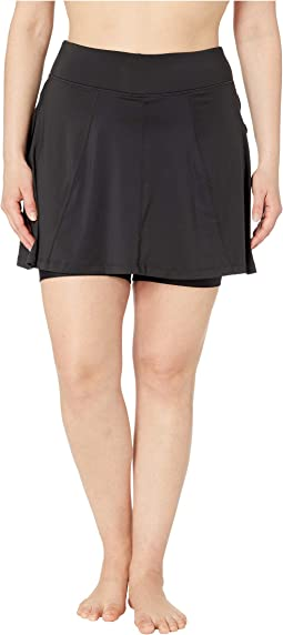Plus Size Free Flow Skirt