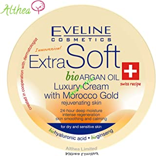 Eveline Cosmetics Extra Soft Bio Argan Oil Luxury Cream with Morocco Gold