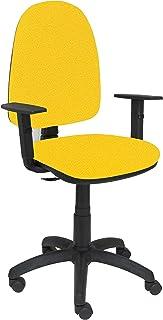 PIQUERAS Y CRESPO 04cpbali100b24–Chaise de Bureau, Couleur Jaune