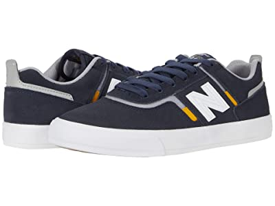 New Balance Numeric 306 (Navy/Yellow) Skate Shoes