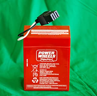 Unbranded New Power Wheels Super 6 Volt Red Battery (6V) 00801-0712