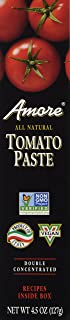 Amore Tomato Paste, 4.5oz (127g) Double Concentrated Tube