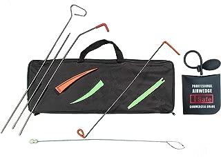 TSafe Full Professional Kit- Long Reach Grabber, Air Wedge, Knob Grabber, 2 Non Marring Wedges, Pry Tool, Short Grabber, Carrying Case