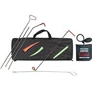 TSafe Full Professional Kit- Long Reach Grabber, Air Wedge, Knob Grabber, 2 Non Marring Wedges,...