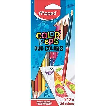 Coloured Pencils Round Grip Art Colouring 10 Packs x 6 Half 1//2 Length Colour
