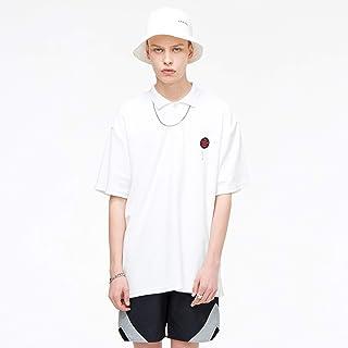 VIISHOW ポロシャツ メンズ 半袖 ティーシャツ カットソー トップス シンプル スポーツ ゴルフ 快適 吸汗速乾 ホワイト