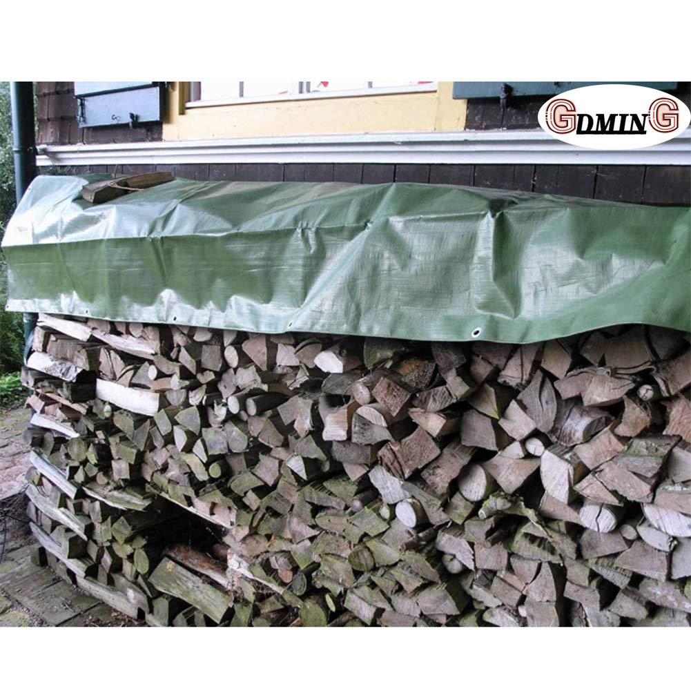 Lona Lonas Impermeables Exterior Protección Hoja De Plástico PE Lonas con Ojales Cubiertas De Hoja De Tierra para Acampar, Pescar, Jardinería Y Mascotas, 14 Tamaños Gdming: Amazon.es: Hogar