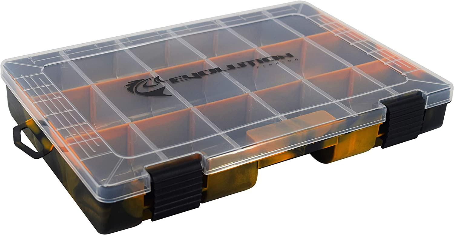 Evolution Outdoor 3600 Drift Series Fishing overseas Tackle – Tray Colore safety