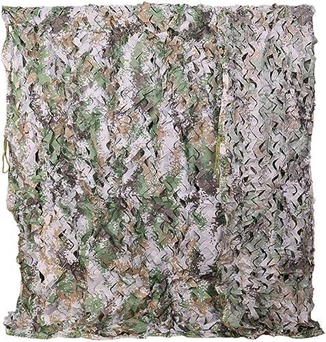 XYY-wzhw Filet de Camouflage armée, Numérique Camouflage Net Oxford Tissu pour La Chasse en Plein Air Tir Caché Camping HalFaibleeen Décoration 2M 3M 5M 10M Convient pour l'extérieur