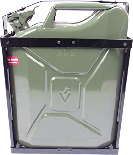 Wavian USA JC0020HV Authentic NATO Steel Jerry Fuel Can Holder Single (20 Litre)