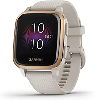 Garmin Venu SQ Smartwatch, gezondheid, geïntegreerde GPS, multisport, cardio, pols, muziekgeheugen, Garmin Pay, lange loop...
