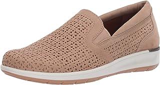 حذاء نسائي Orleans خفيف رمادي داكن مثقوب من Walking Cradles 10. 5 M (B)