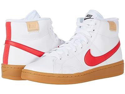 Nike Court Royale 2 Mid (White/Siren Red/Black) Women