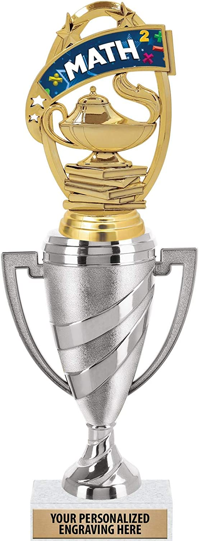 Crown wholesale Awards Math Trophy 12