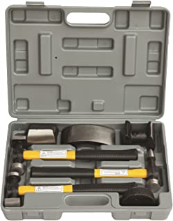 HFS (R) 7 Pcs Set Auto Body Fender Repair Tool Hammer & Dolly Set