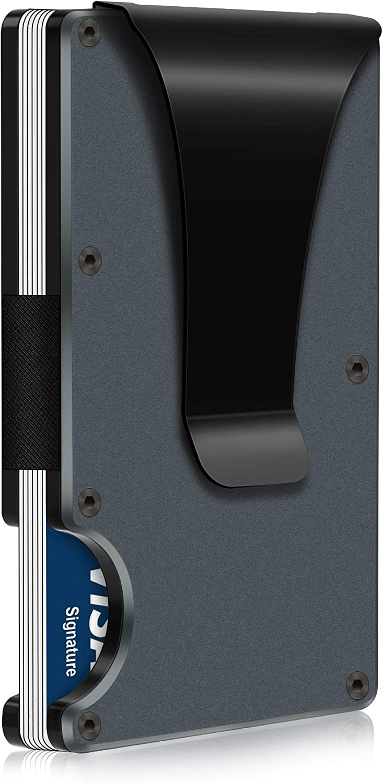 RFID Blocking - Carbon Fiber Men New Max 59% OFF York Mall for Wallet Minimalist Credit