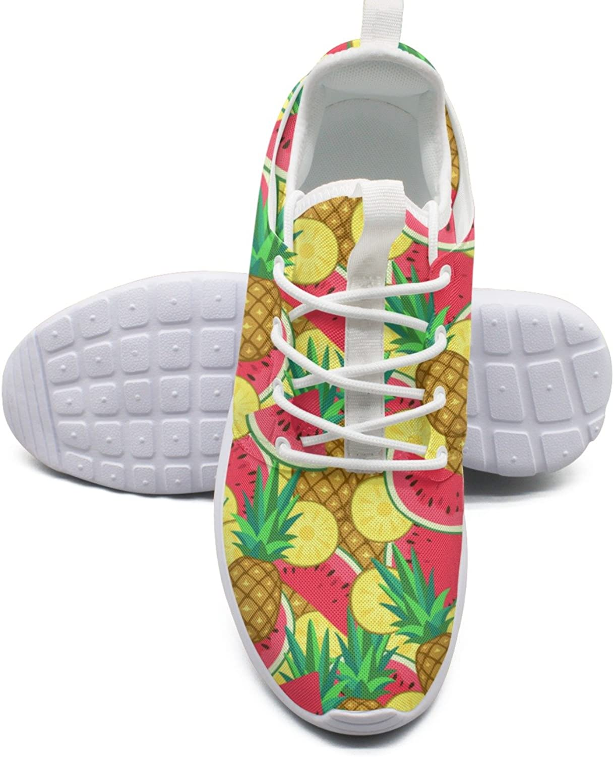 ERSER Watermelon and Pineapple Running shoes for Women Light Weight