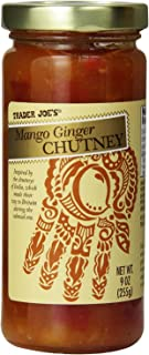 Trader Joe's Gourmet Mango Ginger Chutney, 9 Ounce (Pack of 2)