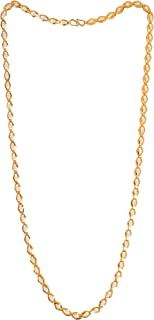 Handicraft Kottage 1 Gm Gold Plated Alloy Traditional Chain Mala for Womens Mens (HK-Chain 110010)