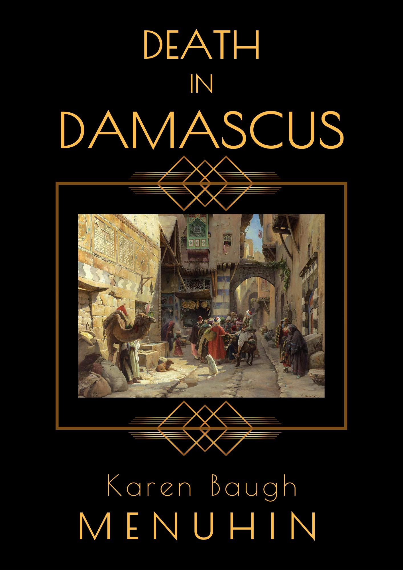 Death in Damascus: A 1920s Murder Mystery with Heathcliff Lennox