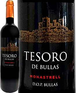 テソロ・デ・ブーリャス 2019 スペイン 赤ワイン ミディアムボディ 750ml モナストレル ブーリャス ジェー