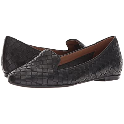French Sole Admire (Black Woven Leather) Women