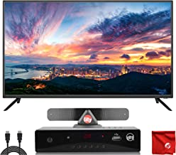 $219 » Sansui 40-Inch 1080p FHD DLED Smart TV (S40P28FN) Slim Ultra-Light Bezel Built-in with HDMI, USB, High Resolution, Dolby Audio Bundle with Circuit City HD Digital Converter Box & Accessories
