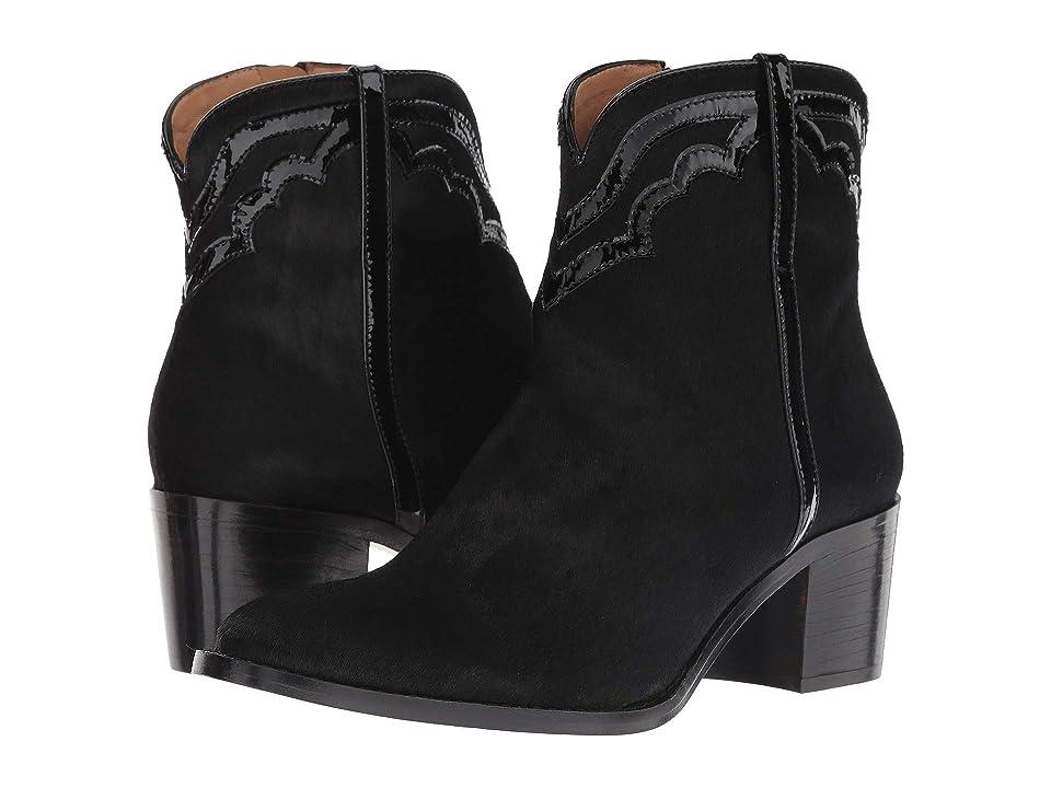 Lucchese Maya (Black Haircalf) Cowboy Boots