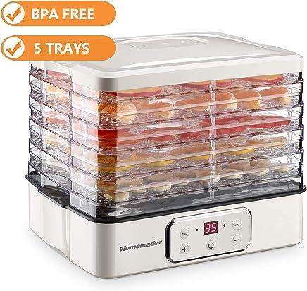Food Dehydrator, Electric Digital Food Dehydrator Machine for Jerky, Fruit, Vegetables & Nuts,...