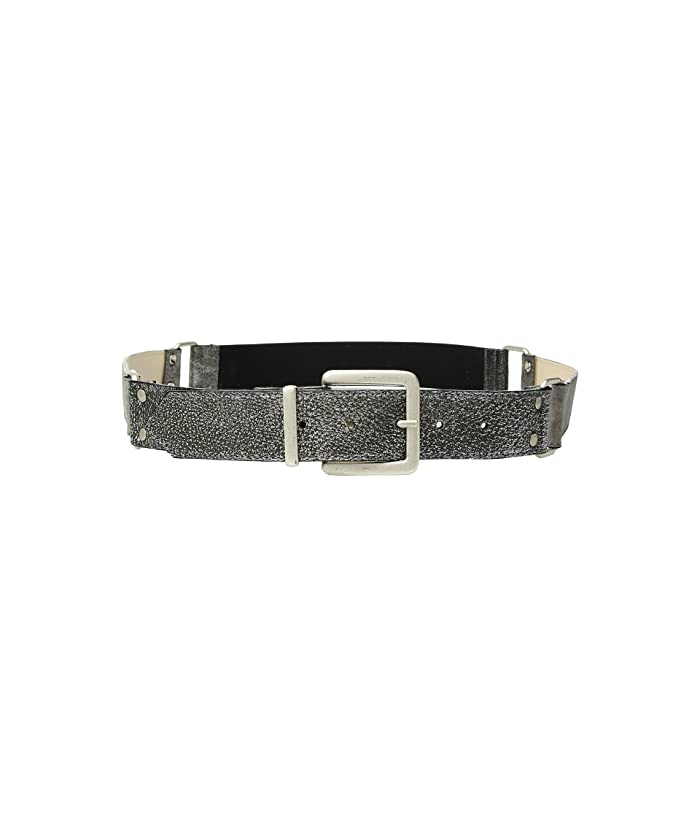 Leatherock Lexi Belt (Silver/Grey) Women