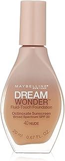 Maybelline New York Dream Wonder Fluid-Touch Foundation, Nude, 0.67 Fluid Ounce