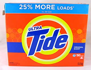 Tide Ultra Original HE Powder Laundry Detergent, 150 Loads