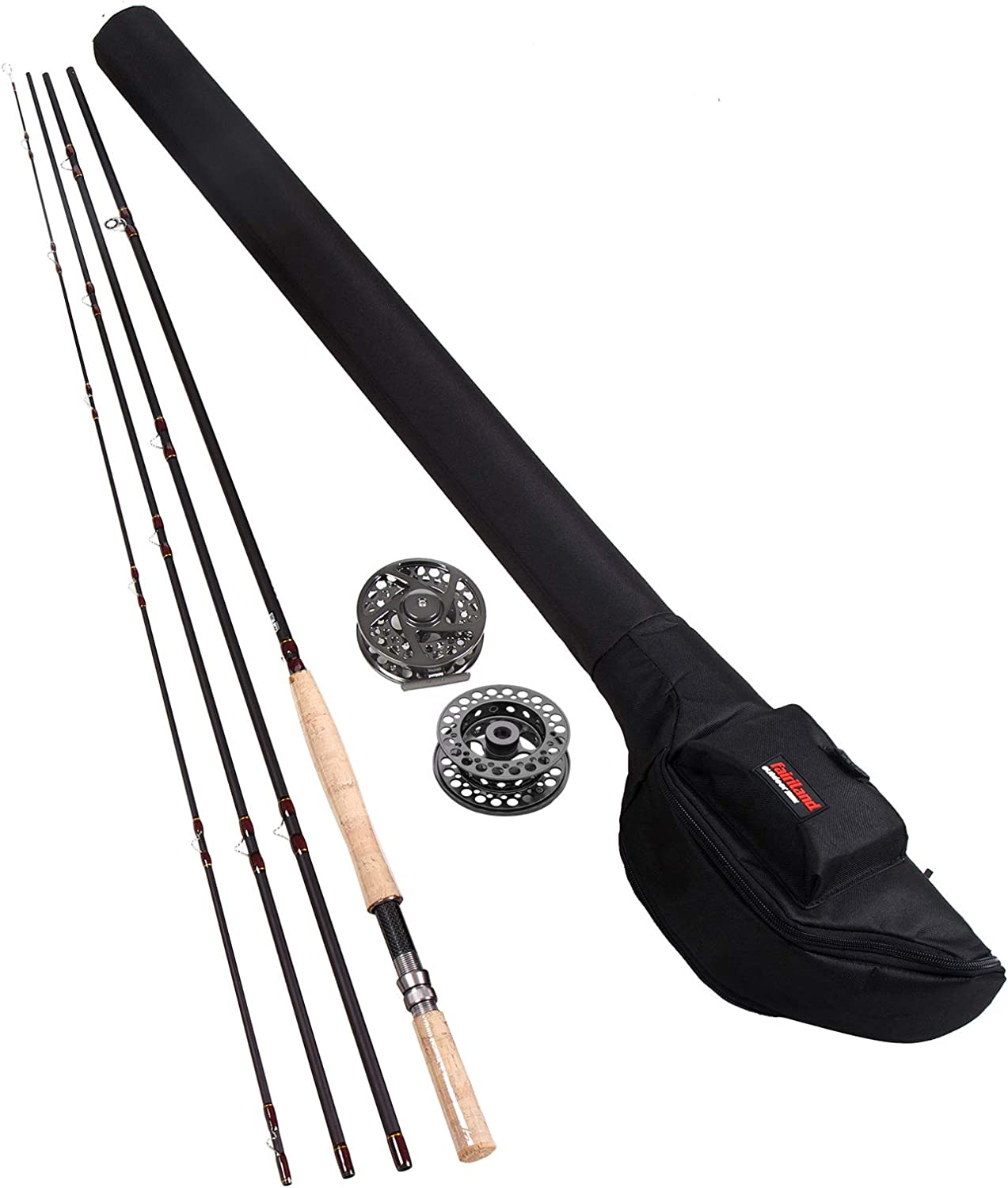 Fairiland Fly Fishing Sacramento 40% OFF Cheap Sale Mall Rod and Reel Beginner for Kit 14' 9 Combo