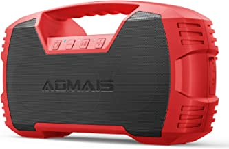 AOMAIS GO Bluetooth Speakers,Waterproof Portable Indoor/Outdoor 40W Wireless Stereo..