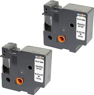 Compatible Casete TZe-155 TZ-155 blanco sobre transparente 24mm x 8m cinta laminada para impresoras de etiquetas Brother P-Touch PT-2430PC 3600 9600 9700 9800 D600VP D800W E300VP E850 H500 P700 P750W