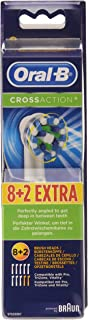 10 Braun Oral-B Cross Action Replacement Toothbrush Heads by Oral-B