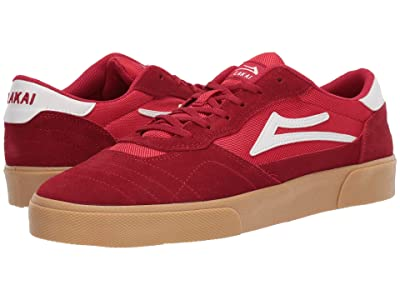 Lakai Cambridge (Red/Gum Suede) Men