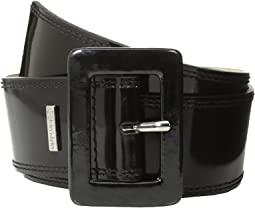 "Calvin Klein 2 1/8"" Patent Covered Buckle"