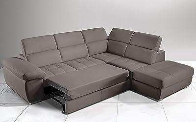 DecoInParis Kiara - Sofá de Esquina Relax eléctrico: Amazon ...