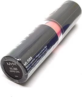 Women Matte Lipstick Net Wt 0.16oz / 4.5g Lip Stick Many Shade Colors BeutiYo + FREE EARRING (MLS03 : HIPPIE CHIC)
