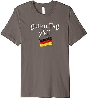 Oktoberfest Beer Fest T Shirt Funny Quote Texas German Flag