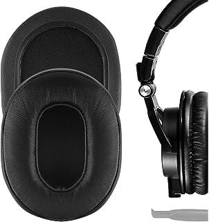 Geekria Elite イヤーパッド 互換性 パッド Audio Technica ATH-M50X ATH-M40X ATH-M30X ATH-M20X ATH-M10X ヘッドホンに対応 イヤパッド/イヤークッション/イヤーカップ (シ...