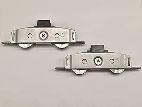 Milgard Tuscany & Classic Series (Standard/Narrow Rail) Sliding Patio Door Wheels, Sold As A Pair