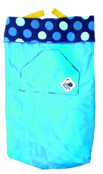 Bean Bundle 5 In 1 Wassergeprüfte Flauschdecke Blau Hippychick Baby