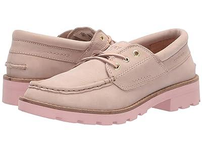 Sperry A/O Leather Lug Boat Shoe (Sand) Women