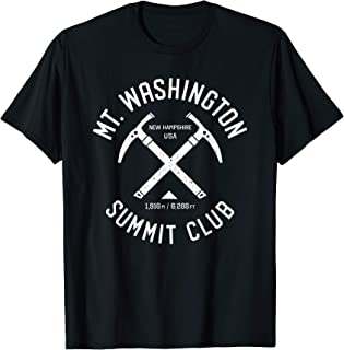 Mt Washington Summit Club | I climbed Mt Washington | Distre