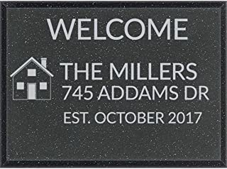 outdoor house address plaques