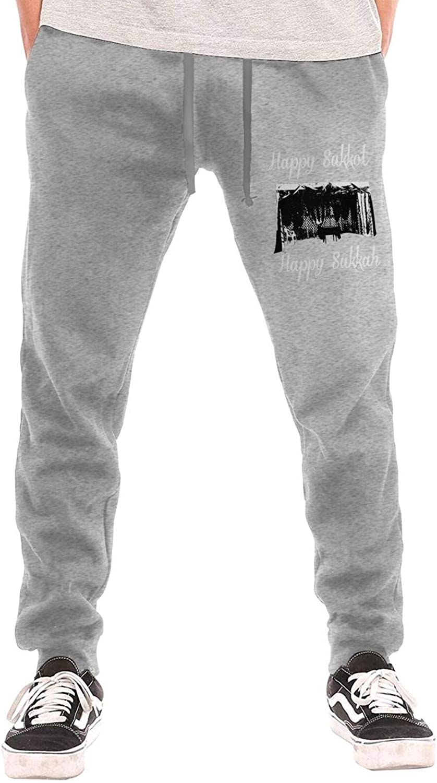 N A Happy Outlet Max 88% OFF SALE Sukkot Sukkah Men's Cot Pockets Sweatpant with Jogger