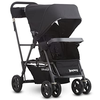 Joovy Caboose Ultralight Graphite Stroller - Best Lightweight Sit And Stand Stroller