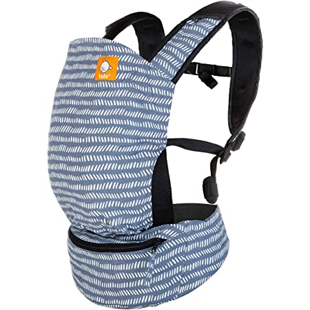 Baby Tula Lite Compact Baby Carrier, Ultra Compact and Lightweight, Convenient Carry Pouch, Ergonomic and Multiple Positions for 12 – 30 pounds (Beyond)